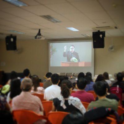 Rev Dr Chiang 16 Apr 2017