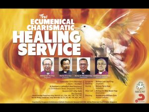 ecumenical charismatic healing service poster 2016